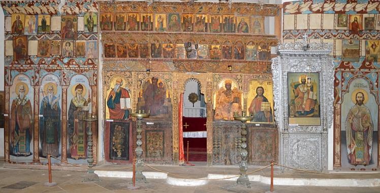 St. Barnabas church interior
