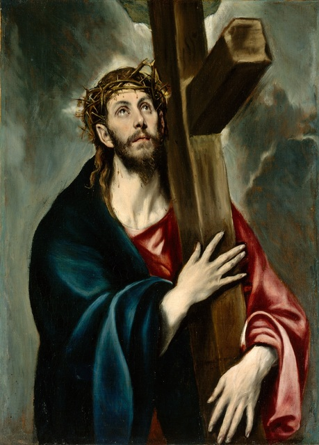 El Greco Christ carrying his cross